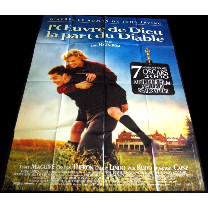 L'OEUVRE DE DIEU LA PART DU DIABLE Affiche de film 120x160 '99 John Irving