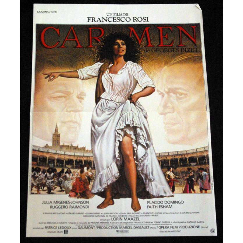 CARMEN French Movie Poster 15x21 '83 Francesco Rosi C7