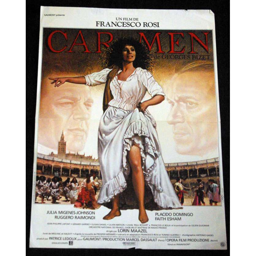 CARMEN French Movie Poster 15x21 '83 Francesco Rosi C5
