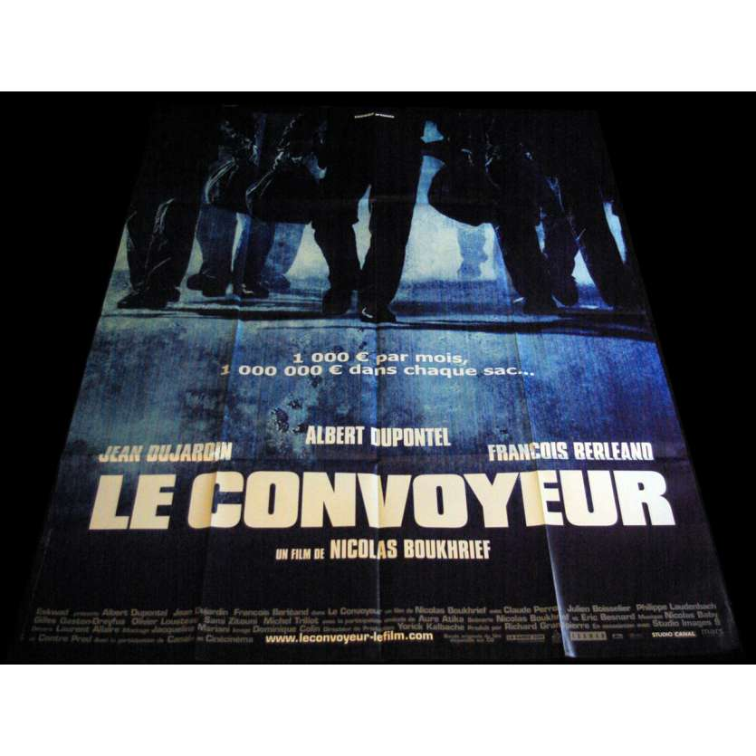 CASH TRUCK French Movie Poster 47x63- 2003 - Nicolas Boukhrief, Jean Dujardin