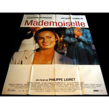 MADEMOISELLE French Movie Poster 47x63- 2001 - Philippe Lioret, Sandrine Bonnaire