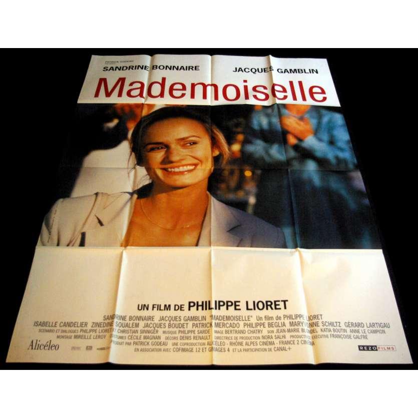 MADEMOISELLE Affiche de film 120x160 - 2001 - Sandrine Bonnaire, Philippe Lioret
