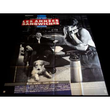 THE SANDWICH YEARS French Movie Poster 47x63- 1988 - Pierre Boutron, Thomas Langmann