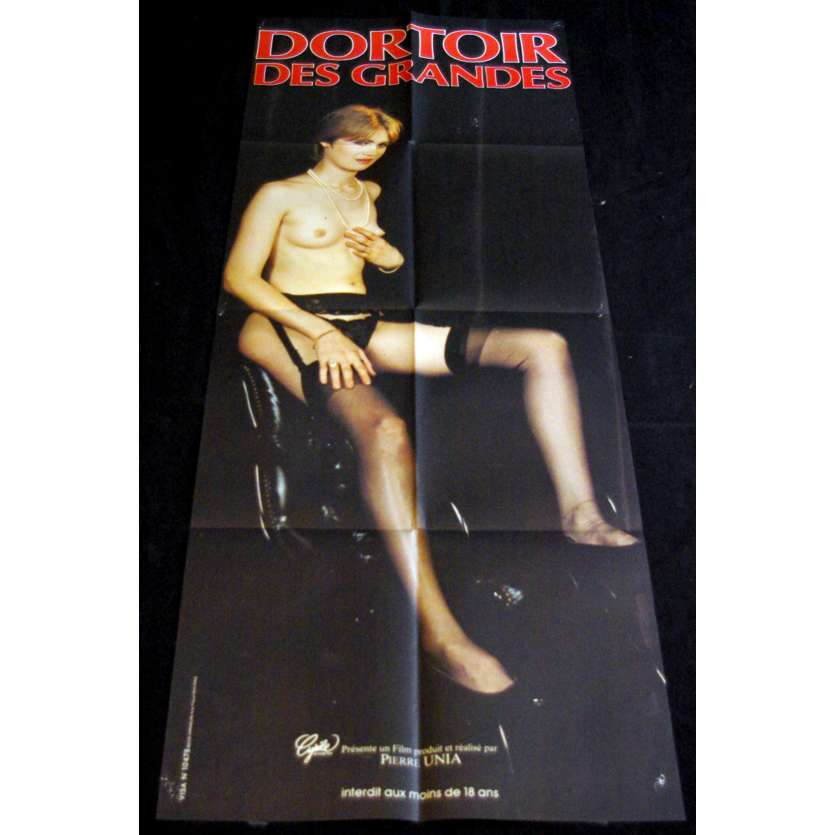 COLLEGE DORMITORY French Movie Poster 23x63- 1984 - Pierre Unia, Maureen Legrand