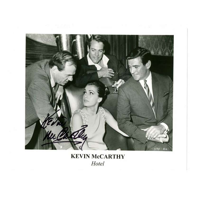 Mauvais-genres.com KEVIN MCCARTHY Photo signée USA 1990 Photos signées