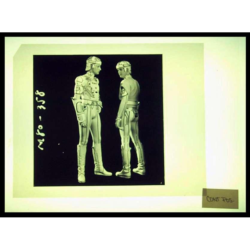TRON Transparents 20x25 - 1982 – Clu et Tron