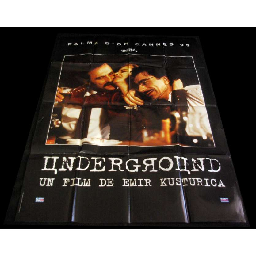 UNDERGROUND French Movie Poster 47x63- 1995 - Emir Kusturica, Miki Manojlovic
