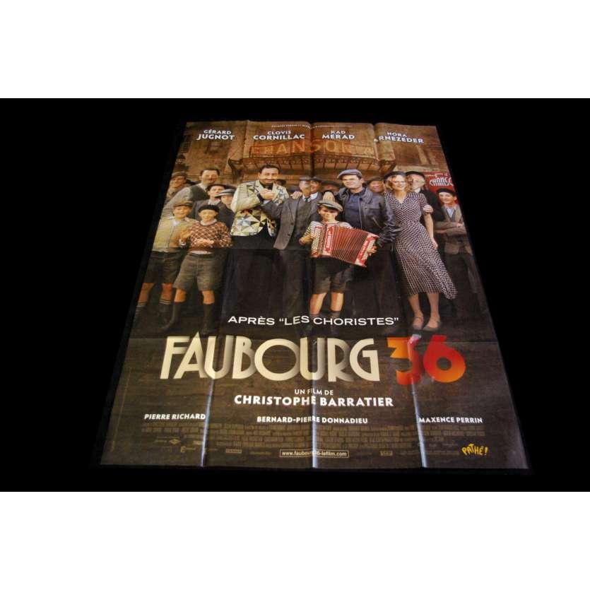 FAUBOURG 36 Affiche de film 120X160 - 2008 - Gérard Jugnot, Kad Merad