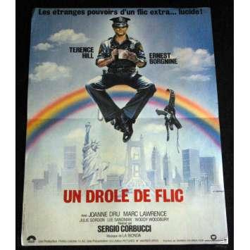 SUPER FUZZ French Movie Poster 15x21- 1980 - Sergio Corbucci, Terence Hill