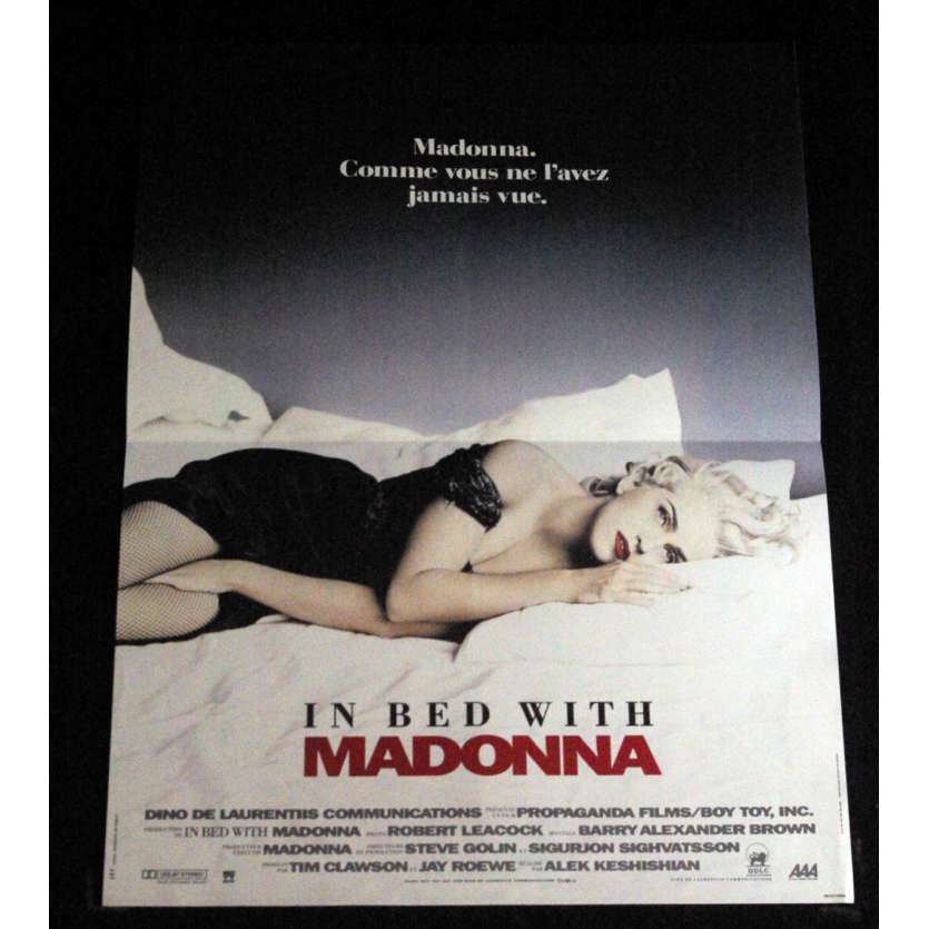 MADONNA: TRUTH OR DARE French Movie Poster 15x21- 1991 - Alek Keshishian, Madonna