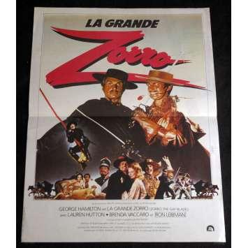 ZORRO, THE GAY BLADE French Movie Poster 15x21- 1981 - Peter Medak, Gorge Hamilton