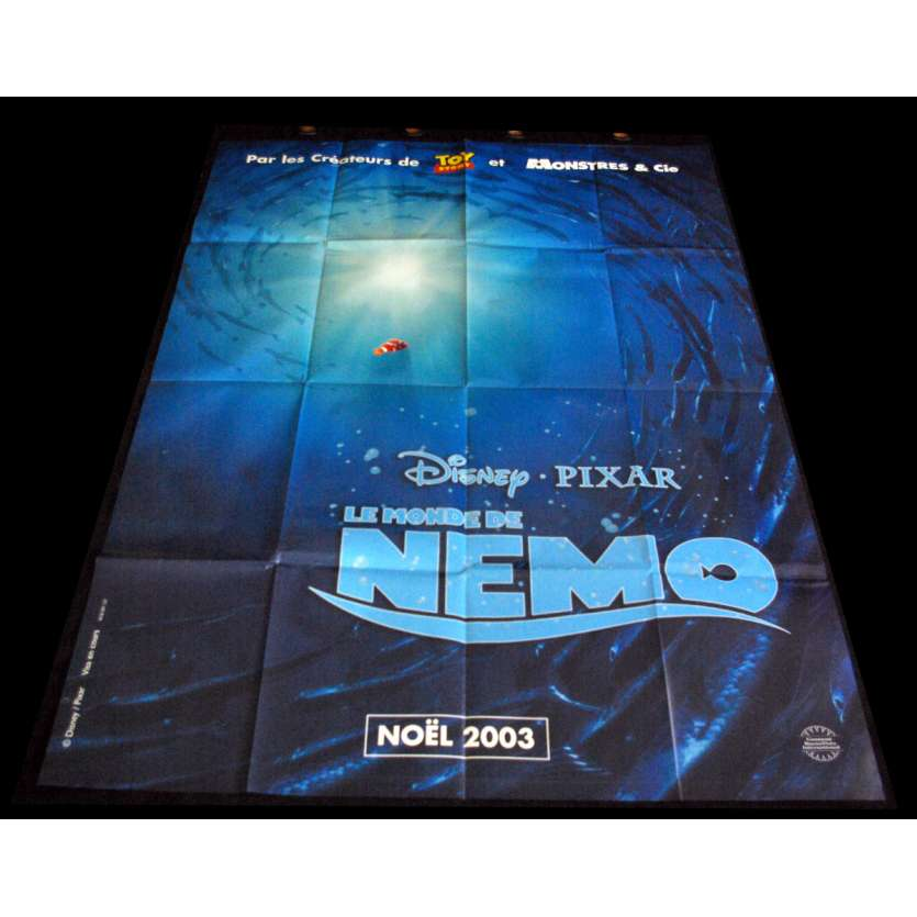 FINDING NEMO) French Movie Poster 47x63- 2003 - Disney,