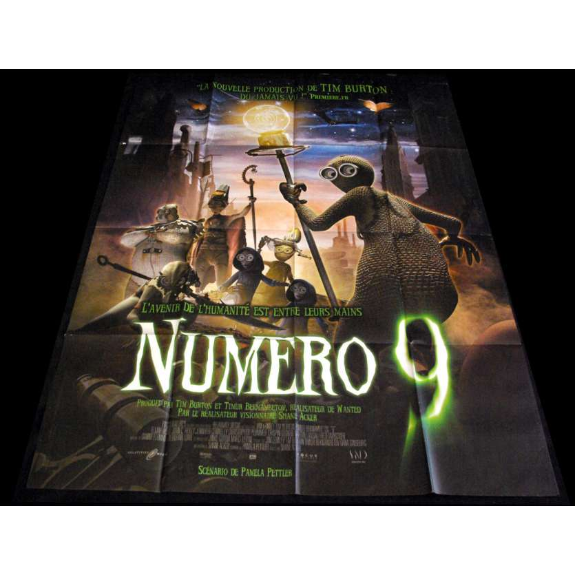 NINE French Movie Poster 47x63- 2009 - Shane Acker,