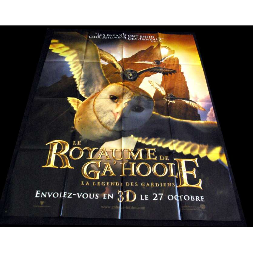 LEGEND OF THE GUARDIANS: THE OWLS OF GA'HOOLE French Movie Poster 47x63- 2010 - Zack Snyder,
