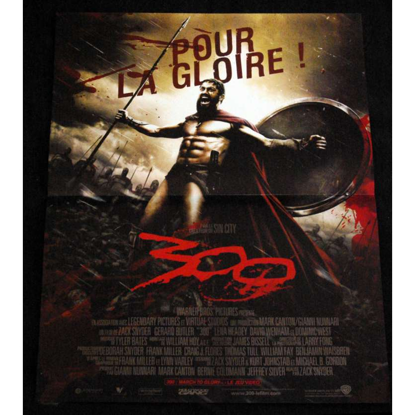 300 French Movie Poster 15x21- 2006 - Zack Snyder, Gerard Butler