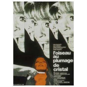 L'OISEAU AU PLUMAGE DE CRISTAL Affiche 60x80 - 1970- Dario Argento Movie Poster
