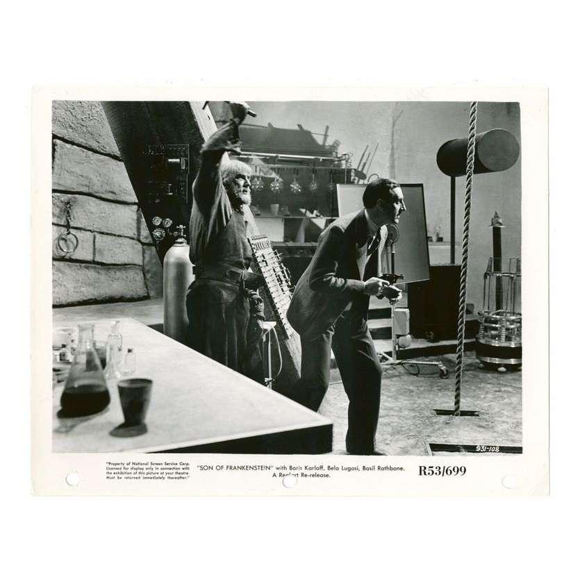Mauvais-genres.com BELA LUGOSI Le fils de Frankenstein USA R1953 Photo Photos