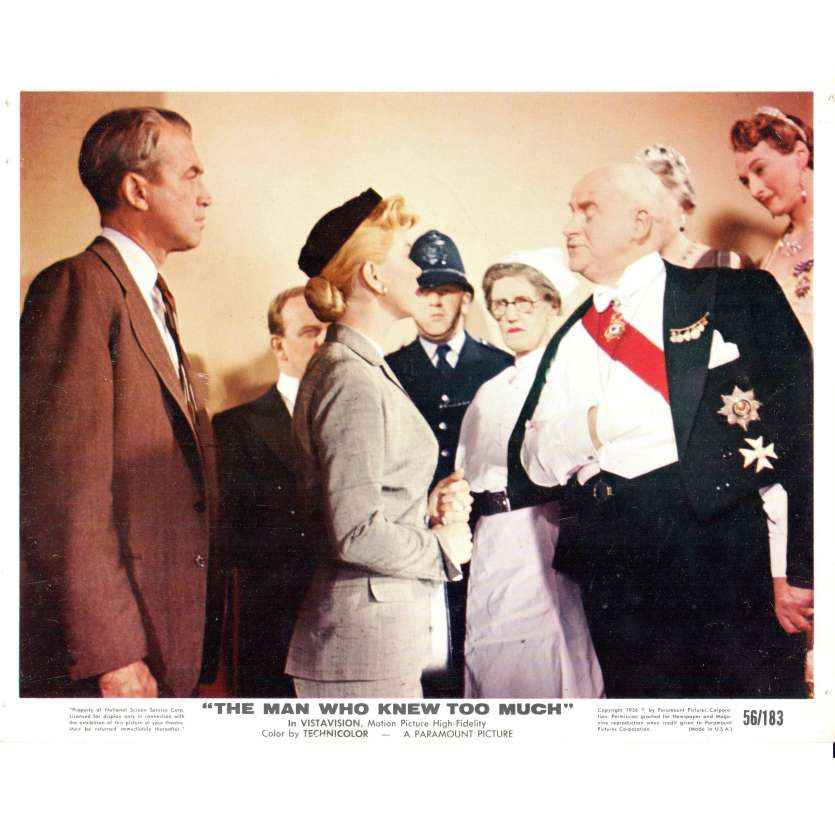THE MAN WHO KNEW TOO MUCH Press Still 8x10 N2 - 1956 - Alfred Hitchcock