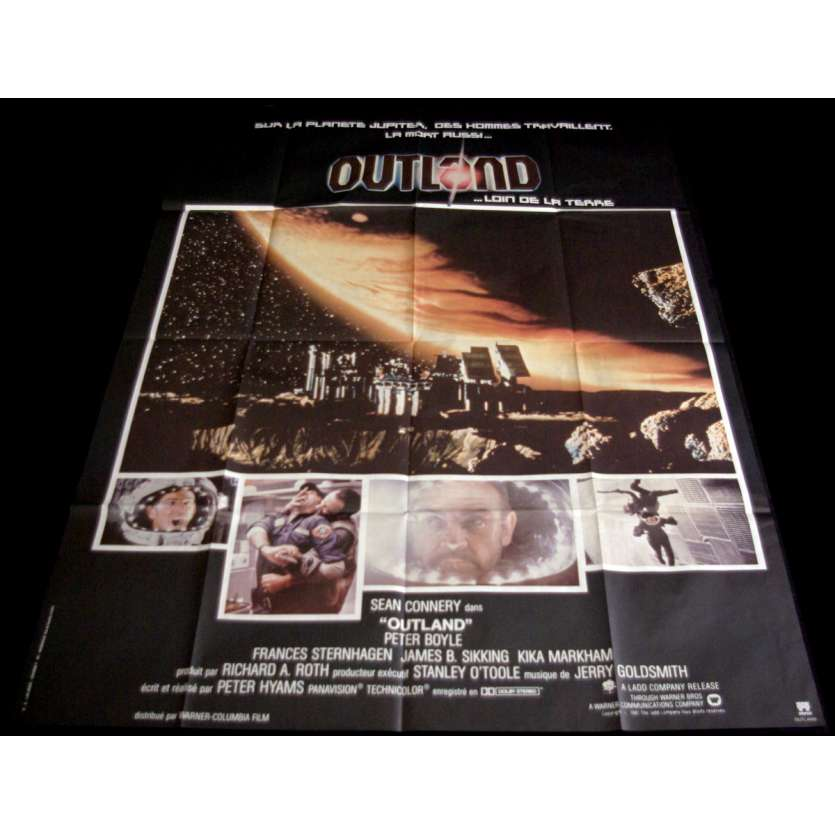 OUTLAND Affiche de film 120x160 - 1981 - Sean Connery, Peter Hyams