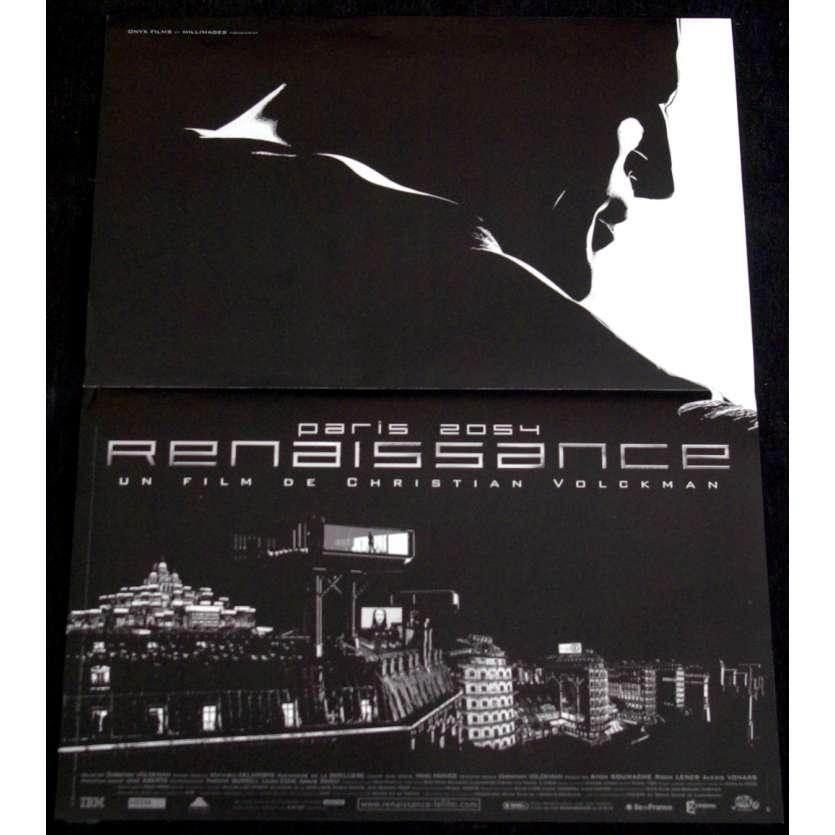 RENAISSANCE Affiche de film 40x60 - 2006 - Daniel Craig, Christian Volckman