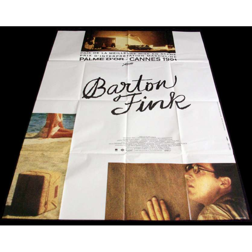 BARTON FINK French Movie Poster 47x63- 1991 - Joel Coen, John Turturro