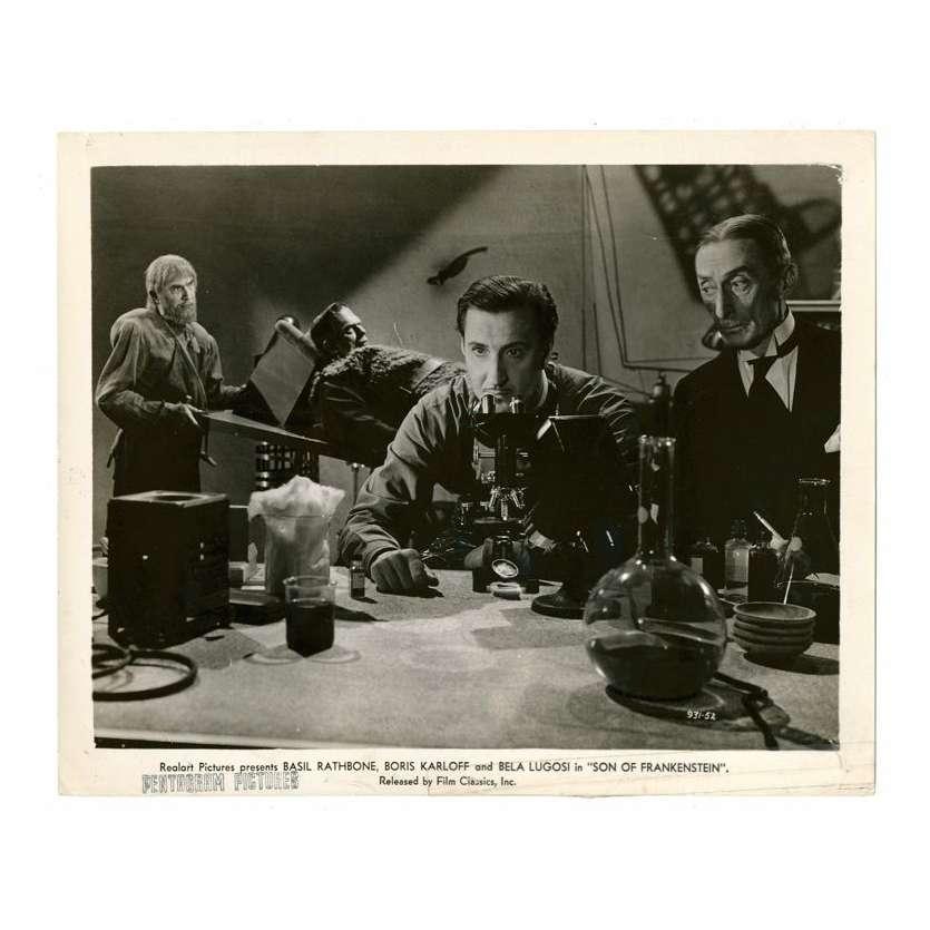Mauvais-genres.com BORIS KARLOFF Le fils de Frankenstein USA R1940 Photo Photos
