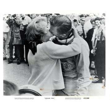 GRAND PRIX US Press Still 8x10- 1967 - John Frankenheimer, Yves Montand