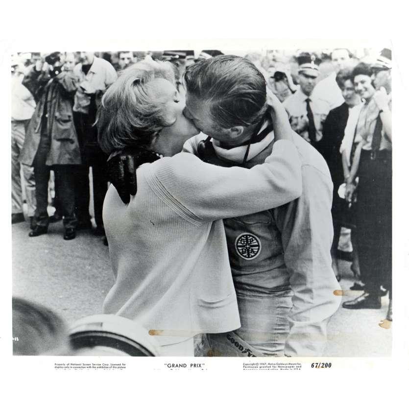 GRAND PRIX Photo de presse N1 20x25 - 1967 - Yves Montand, John Frankenheimer