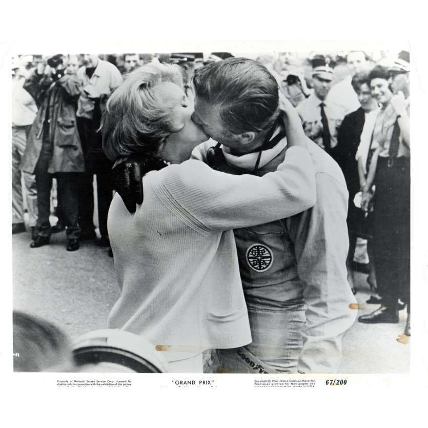GRAND PRIX US Press Still 8x10- 1967 - John Frankenheimer, Yves Montand