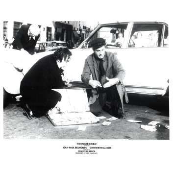 L'INCORRIGIBLE Photo de presse N3 20x25 - 1975 - Jean-Paul Belmondo, Philippe de Broca