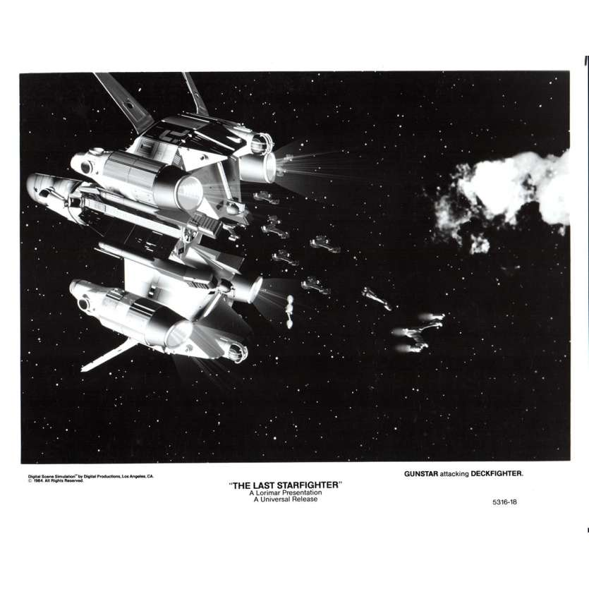 STARFIGHTER Photo de presse N2 20x25 - 1984 - Lance Guest, Nick Castle