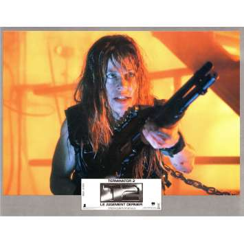 TERMINATOR 2 Photo de film N3 21x30 - 1991 - Arnold Schwarzenegger, James Cameron
