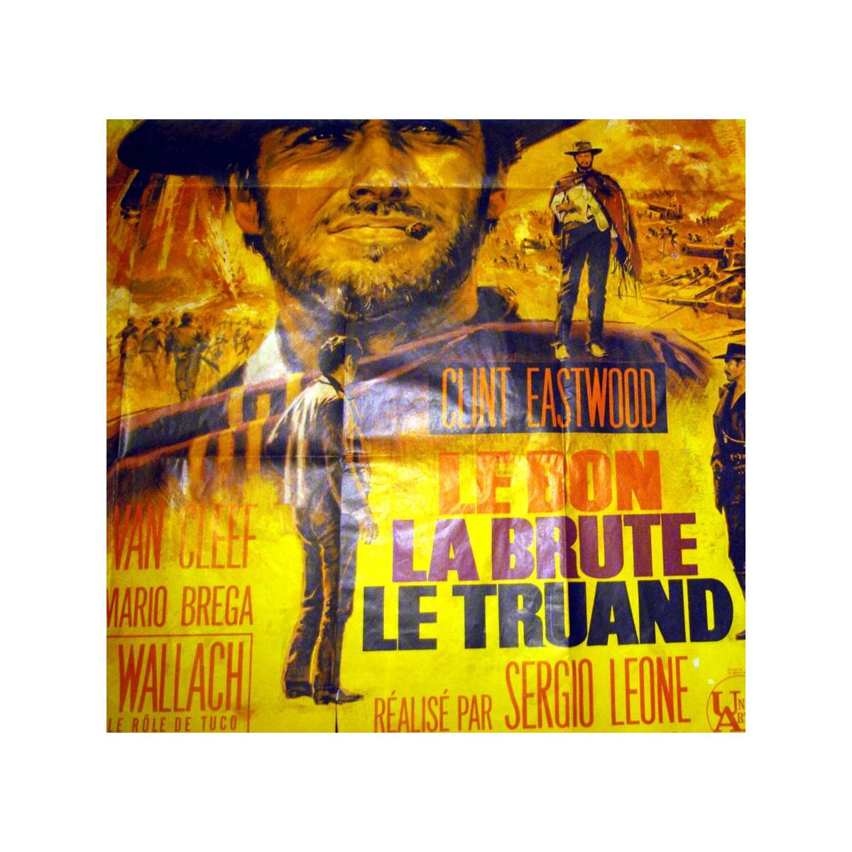 The Good The Bad And The Ugly Of Our First Kitchen: GOOD, THE BAD & THE UGLY French Original Movie Poster