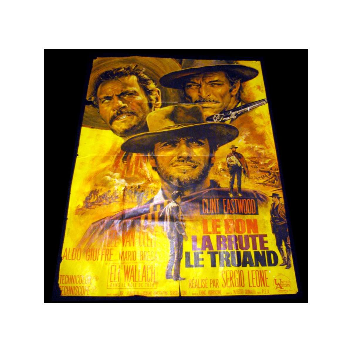 GOOD, THE BAD & THE UGLY French Original Movie Poster