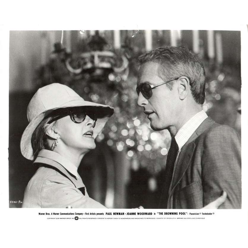 DROWNING POOL US Press Still 8x10- 1975 - Stuart Rosenberg, Paul Newman