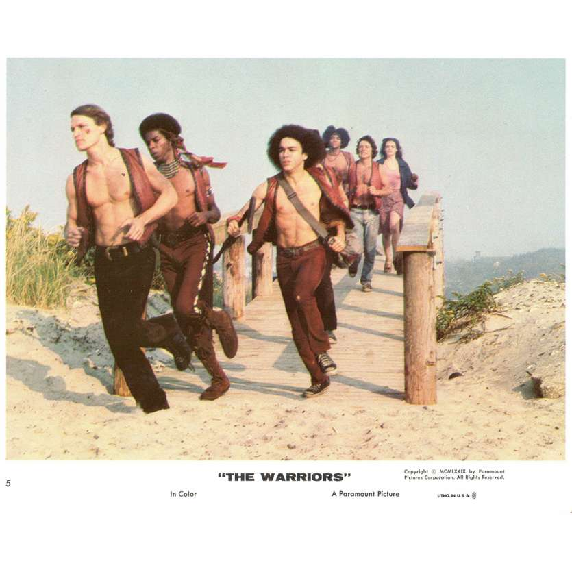 THE WARRIORS US Lobby Card 8x10- 1979 - Walter Hill, Michael Beck