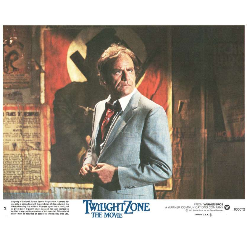 TWILIGHT ZONE US Lobby Card 8x10- 1983 - Steven Spielberg, John Lightow