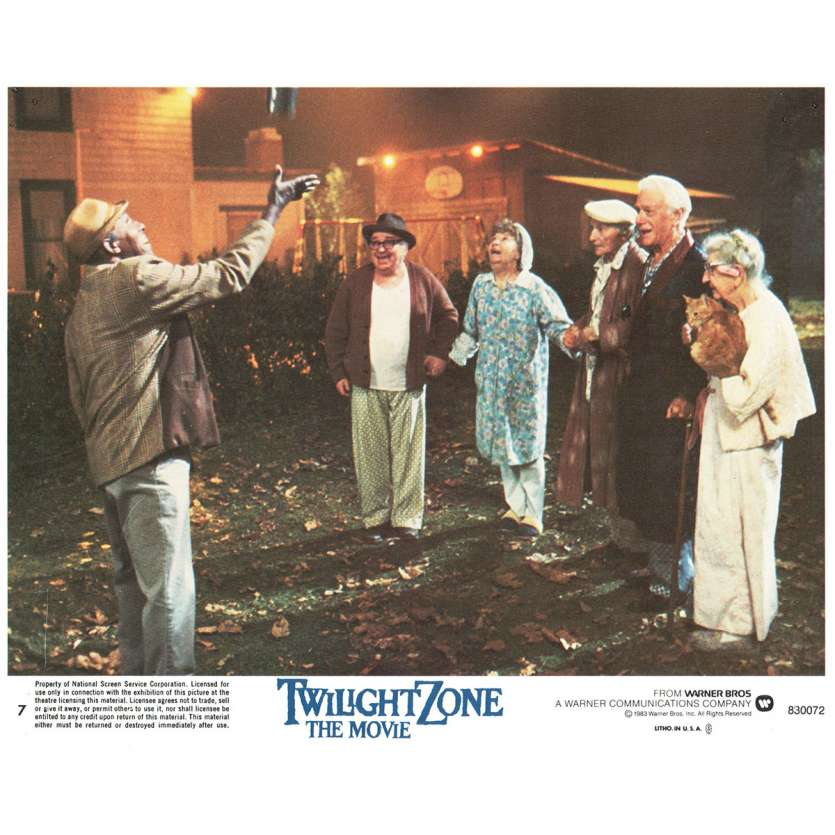 LA QUATRIEME DIMENSION Photo de film N6 20x25 - 1983 - John Lightow, Steven Spielberg