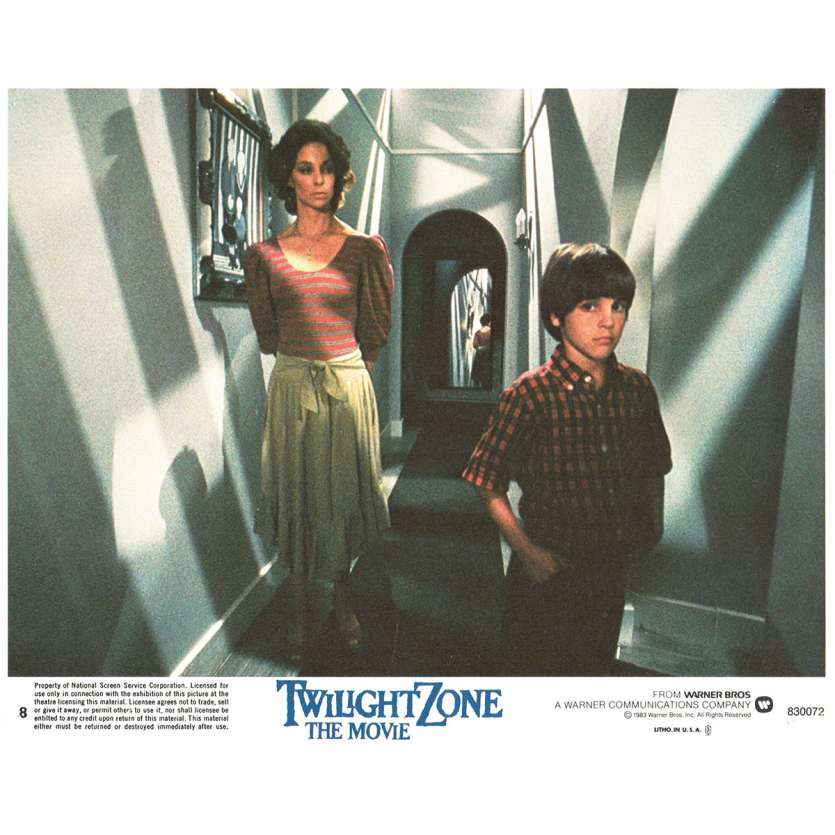 LA QUATRIEME DIMENSION Photo de film N7 20x25 - 1983 - John Lightow, Steven Spielberg
