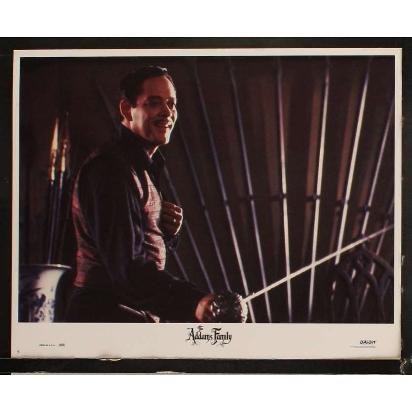 ADAMS FAMILY US Lobby Card 11x14- 1991 - Barry Sonnenfeld, Raul Julia