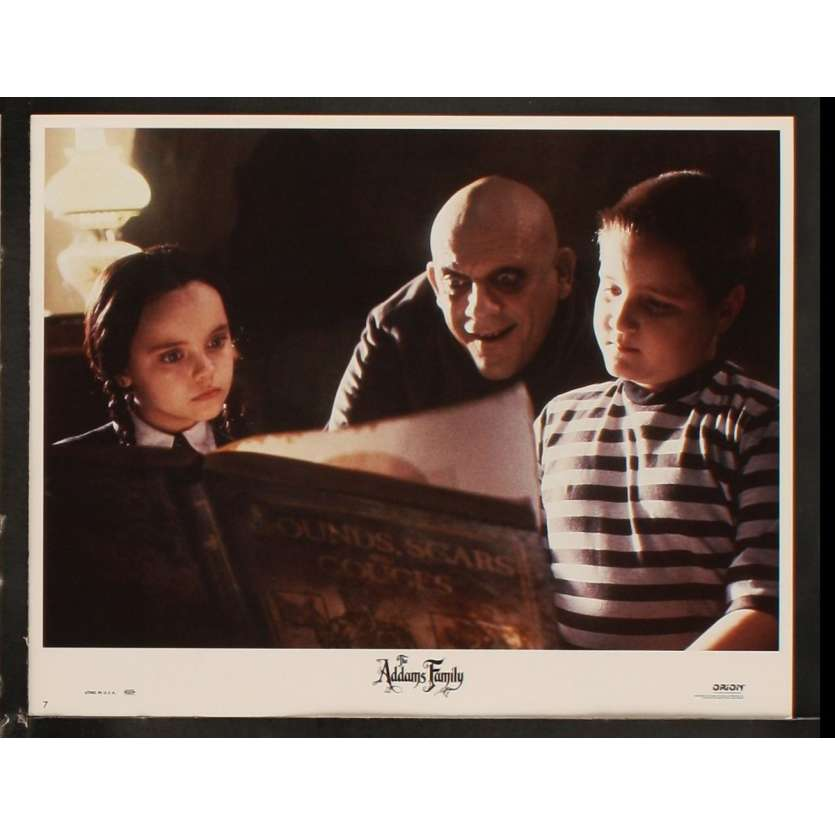 LA FAMILLE ADDAMS Photo de film N6 28x36 - 1991 - Raul Julia, Barry Sonnenfeld