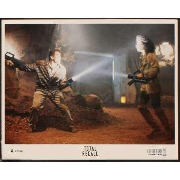 TOTAL RECALL Photo de film N2 28x36 - 1990 - Arnold Schwarzenegger, Paul Verhoeven