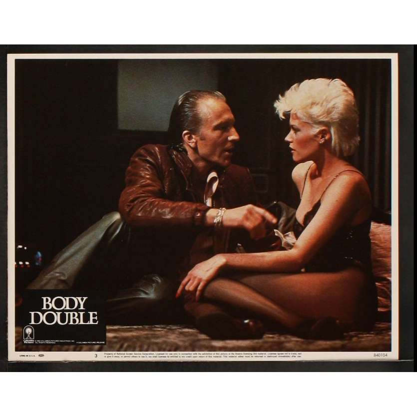 BODY DOUBLE US Lobby Card 11x14- 1984 - Brian de Palma, Melanie Griffith