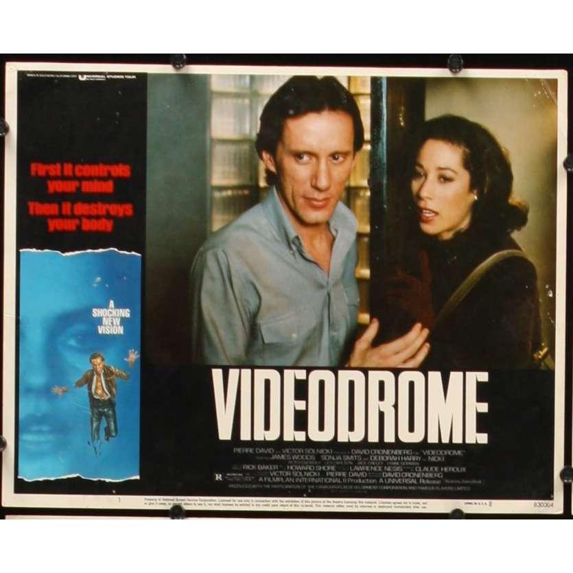 VIDEODROME US Lobby Card 11x14- 1984 - David Cronenberg, James Woods
