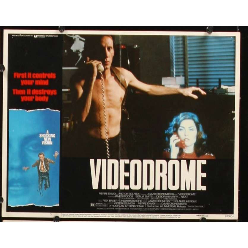 VIDEODROME Photo de film N2 28x36 - 1984 - James Woods, David Cronenberg