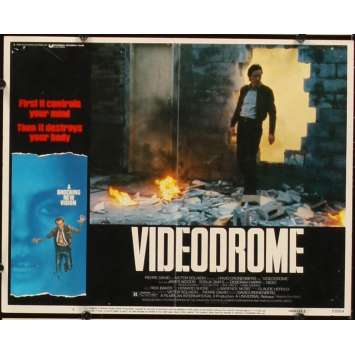 VIDEODROME Photo de film N4 28x36 - 1984 - James Woods, David Cronenberg