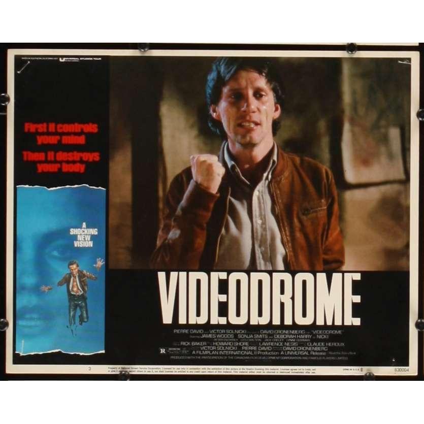 VIDEODROME Photo de film N5 28x36 - 1984 - James Woods, David Cronenberg