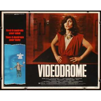VIDEODROME Photo de film N7 28x36 - 1984 - James Woods, David Cronenberg