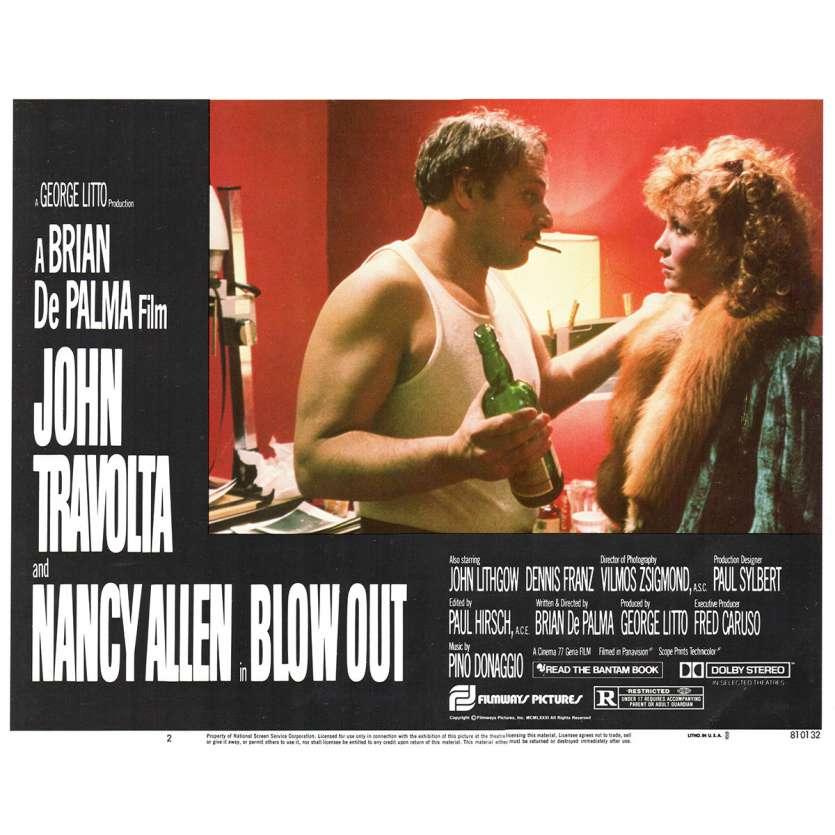 BLOWOUT Photo de film N2 28x36 - 1981 - John Travolta, Brian de Palma