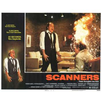 SCANNERS Photo de film N1 28x36 - 1981 - Patrick McGoohan, David Cronenberg
